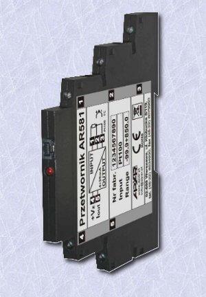 Przetwornik temperatury APAR model AR581