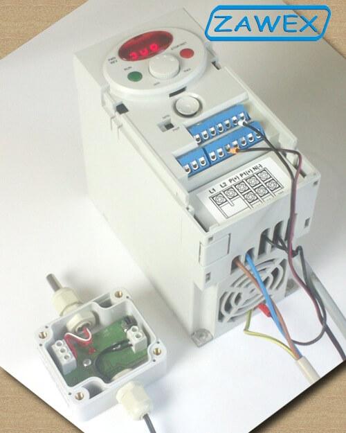 Falownik LG/LS ic5 i przetwornik temperatury apar ar553/i