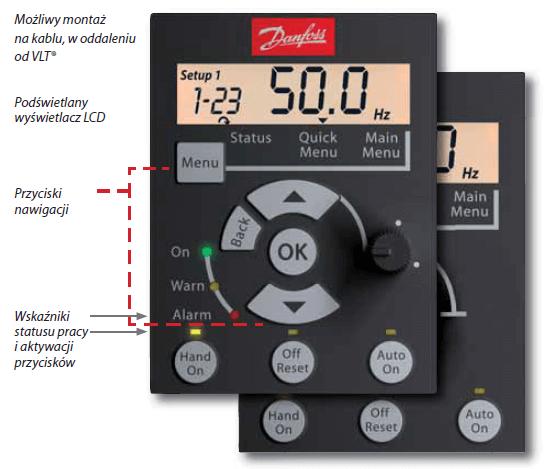 Danfoss Micro Drive - panel operatorski LCP